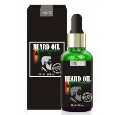 Mасло для бороды Inside Beard Oil c макадами и конопляным маслом 30ml