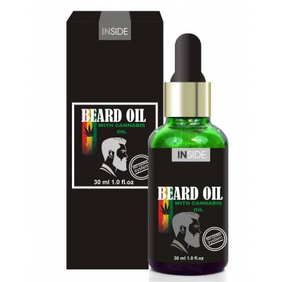 Mасло для бороды Inside Beard Oil c макадами и конопляным маслом 30ml