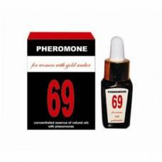 Духи с феромонами для женщин без запаха Pheromon 69 for Women 10ml