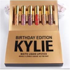 Набор матовых помад Kylie Birthday Edition 6 штук