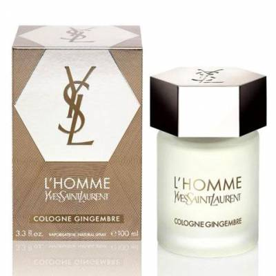 Мужская парфюмерия Одеколон YSL LHomme Cologne Gingembre 100ml (тестер)