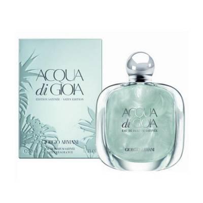 Женская парфюмерия Парфюмированная вода Armani Acqua di Gioia Satinee 100ml (лицензия)