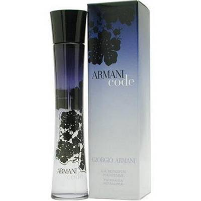 Женская парфюмерия Парфюмированная вода Armani Code 75ml (лицензия)