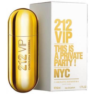 Женская парфюмерия Парфюмированная вода Carolina Herrera 212 VIP 80ml (лицензия)