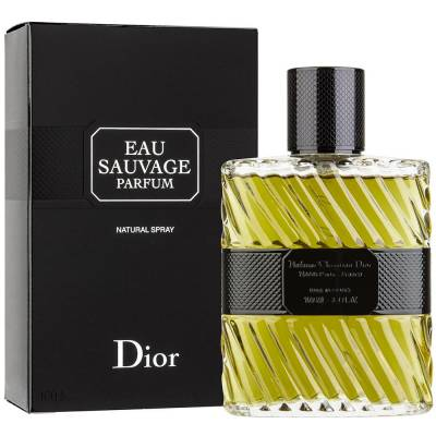 Мужская парфюмерия Парфюмированная вода Christian Dior Eau Sauvage Parfum 100ml (лицензия)