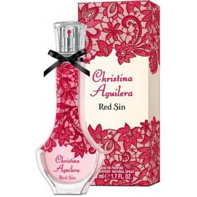 Женская парфюмерия Парфюмированная вода Christina Aguilera Red Sin 100ml (лицензия)