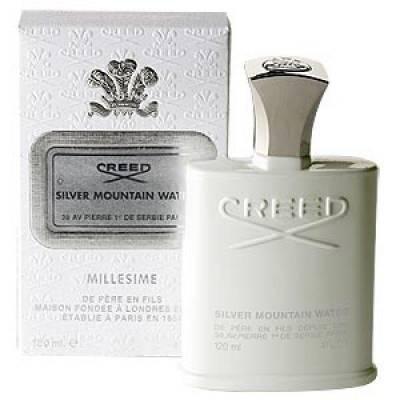 Мужская парфюмерия Парфюмированная вода Creed Silver Mountain Water 120ml (лицензия)