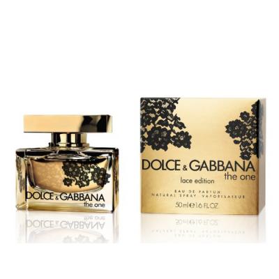 Женская парфюмерия Парфюмированная вода D&G The One Lace Edition 75ml (лицензия)