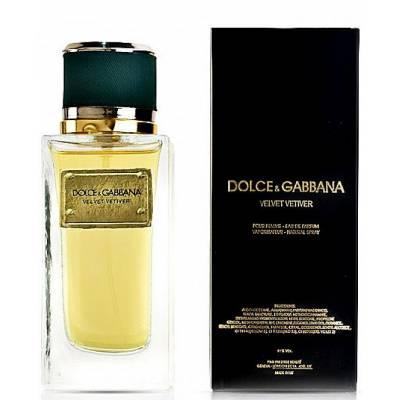 Женская парфюмерия Парфюмированная вода D&G Velvet Vetiver 100ml (лицензия)