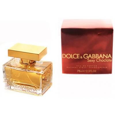 Женская парфюмерия Парфюмированная вода Dolce&Gabbana Sexy Chocolate 75ml (лицензия)