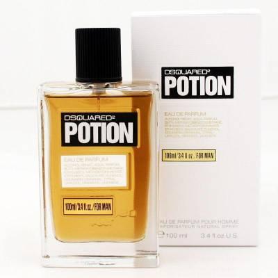 Мужская парфюмерия Парфюмированная вода DSquared2 Potion Man 100ml (лицензия)