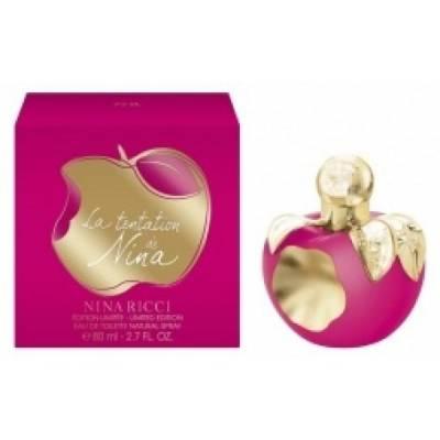 Женская парфюмерия Парфюмированная вода Nina Ricci La Tentation de Nina 80ml (лицензия)