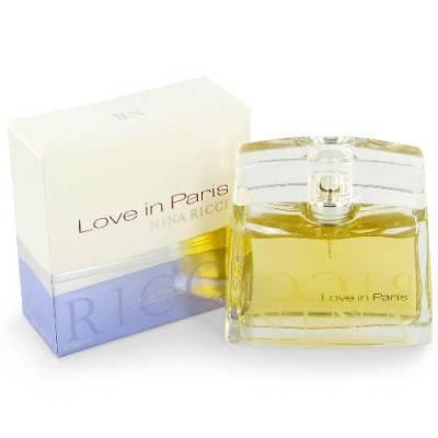 Женская парфюмерия Парфюмированная вода Nina Ricci Love In Paris 50ml (тестер)