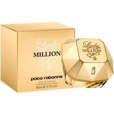 Парфюмированная вода Paco Rabanne Lady Million 80ml (лицензия)