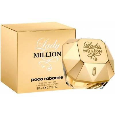 Женская парфюмерия Парфюмированная вода Paco Rabanne Lady Million 80ml (лицензия)