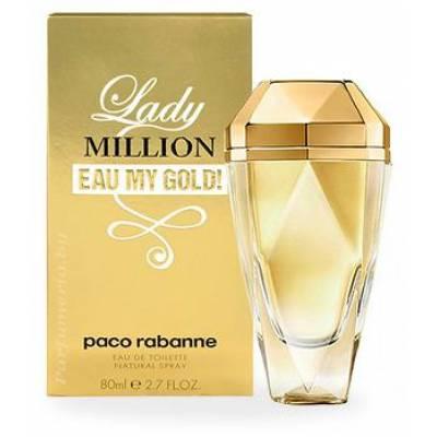 Женская парфюмерия Парфюмированная вода Paco Rabanne Lady Million Eau My Gold! 80ml (лицензия)