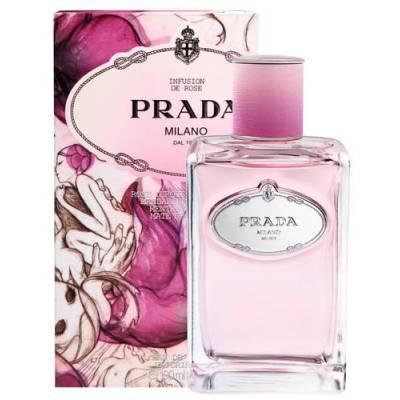 Женская парфюмерия Парфюмированная вода Prada Infusion de Rose 100ml (лицензия)