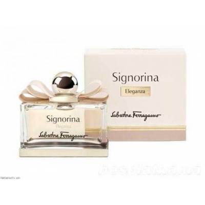 Женская парфюмерия Парфюмированная вода Salvatore Ferragamo Signorina Eleganza 100ml (лицензия)