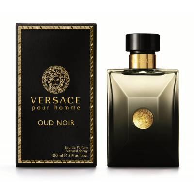 Мужская парфюмерия Парфюмированная вода Versace Pour Homme Noir Oud 100ml (лицензия)