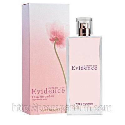 Женская парфюмерия Парфюмированная вода Yves Rocher Comme Une Evidence 50ml