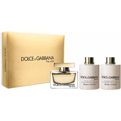Подарочный набор Dolce & Gabbana The One (edp 30ml+b/l 120ml+30ml+soap) (лицензия)