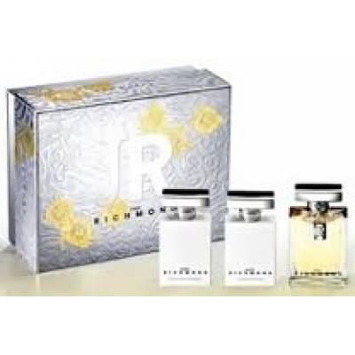 Подарочные наборы Подарочный набор John Richmond Pour Femme (edp 4.5ml+s/g 25ml+b/l 25ml) (лицензия)
