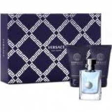 Подарочный набор Versace Pour Homme  (edt 5ml+balm 25ml+ s/g 25ml) (лицензия)