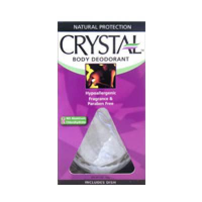 Средства от потовыделения Дезодорант Crystal Body Deodorant Full Size Rock кристалл 140g (лицензия)