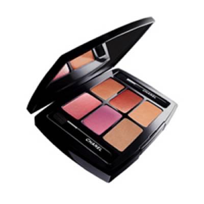 Тени для век Тени Les 6 Ombres Eyeshadow 7.2g (лицензия)