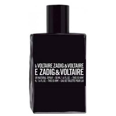 Тестер туалетная вода Zadig & Voltaire This is Him 100ml (лицензия)