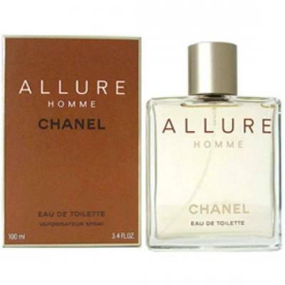 Мужская парфюмерия Туалетная вода Allure Homme 100ml (лицензия)