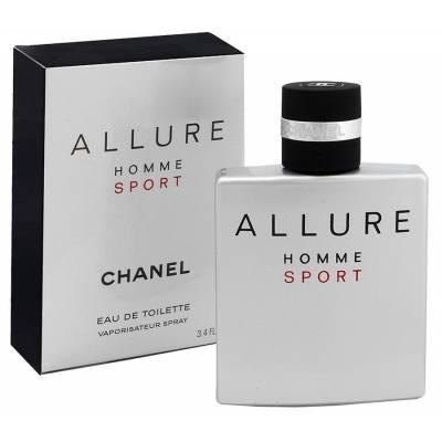Мужская парфюмерия Туалетная вода Allure Homme Sport 100ml (лицензия)