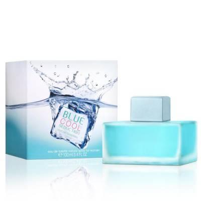 Женская парфюмерия Туалетная вода Antonio Banderas Blue Cool Seduction For Women 100ml (лицензия)