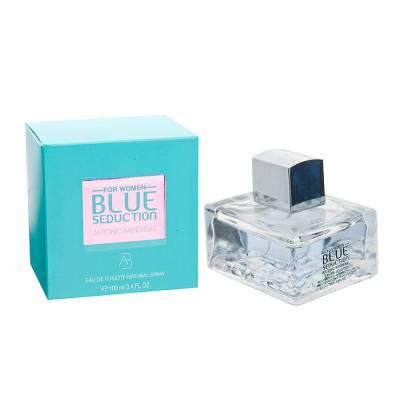 Женская парфюмерия Туалетная вода Antonio Banderas Blue Seduction for Women 100ml (лицензия)