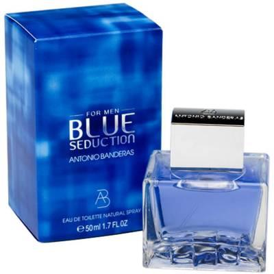Мужская парфюмерия Туалетная вода Antonio Banderas Blue Seduction Man 100ml (лицензия)