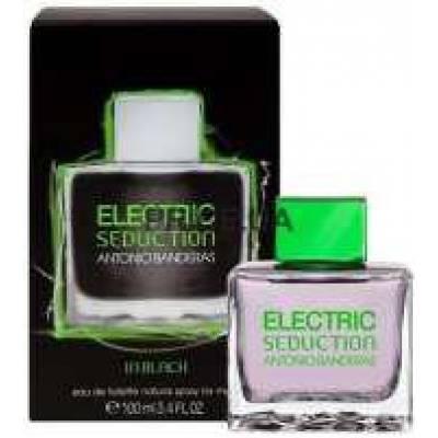 Туалетная вода Antonio Banderas Electric Black Seduction Men 100ml (лицензия)