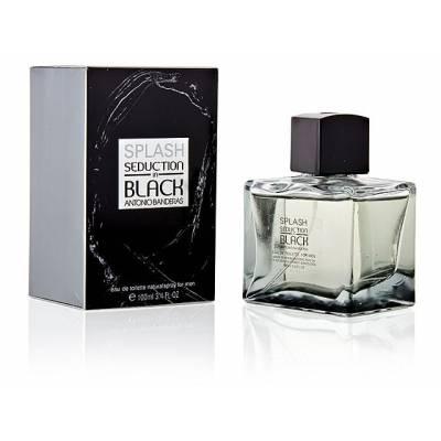 Мужская парфюмерия Туалетная вода Antonio Banderas Seduction In Black for Men 100ml (лицензия)
