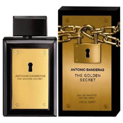 Мужская парфюмерия Туалетная вода Antonio Banderas The Golden Secret for Men 100ml (лицензия)