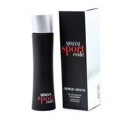 Мужская парфюмерия Туалетная вода Armani Code Sport 125ml (лицензия)