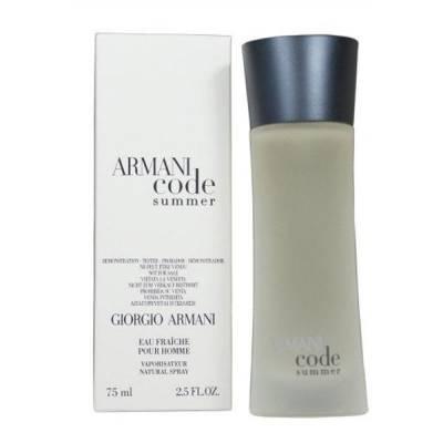 Мужская парфюмерия Туалетная вода Armani Code Summer Pour Homme 100ml (лицензия)