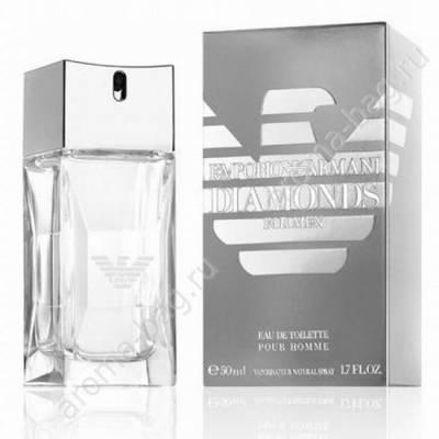 Мужская парфюмерия Туалетная вода Armani Emporio Diamonds For Men 100ml (лицензия)