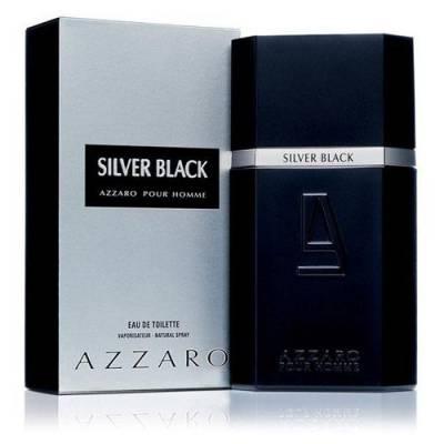 Мужская парфюмерия Туалетная вода Azzaro Silver Black 100ml (лицензия)