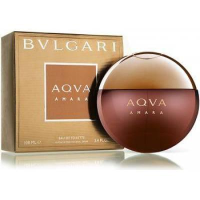 Мужская парфюмерия Туалетная вода Bvlgari Aqva Amara 100ml (лицензия)