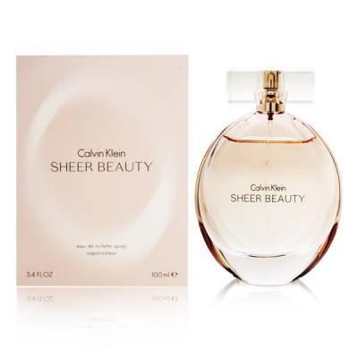 Женская парфюмерия Туалетная вода Calvin Klein Sheer Beauty 100ml (лицензия)