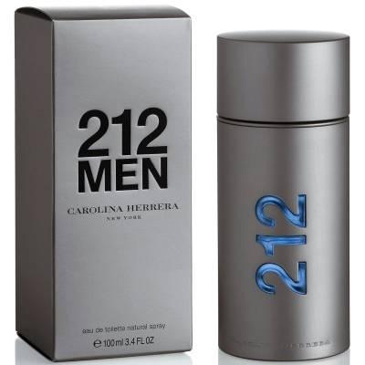 Мужская парфюмерия Туалетная вода Carolina Herrera 212 Man 100ml (лицензия)