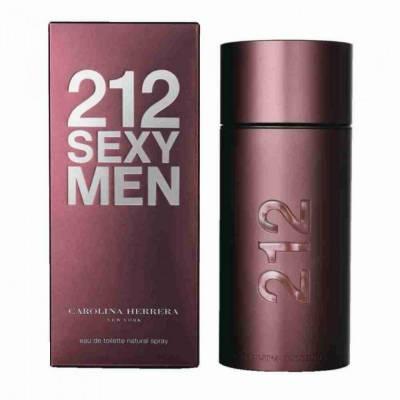 Мужская парфюмерия Туалетная вода Carolina Herrera 212 Sexy Men 100ml (лицензия)