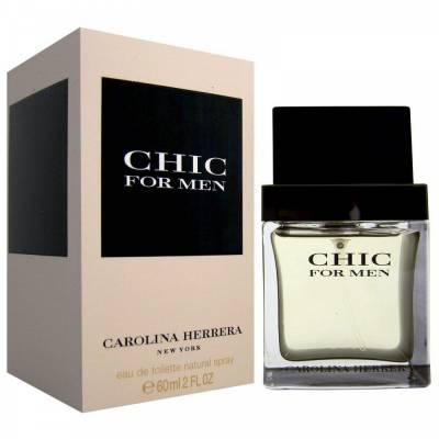 Мужская парфюмерия Туалетная вода Carolina Herrera Chic for Men 100ml (лицензия)