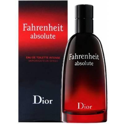 Мужская парфюмерия Туалетная вода Christian Dior Fahrenheit Absolute 100ml (лицензия)