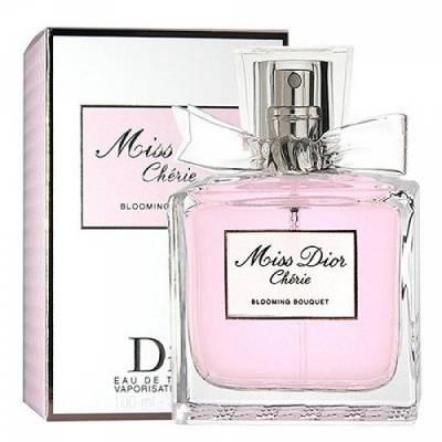 Женская парфюмерия Туалетная вода Christian Dior Miss Dior Cherie Blooming Bouquet 100ml (лицензия)