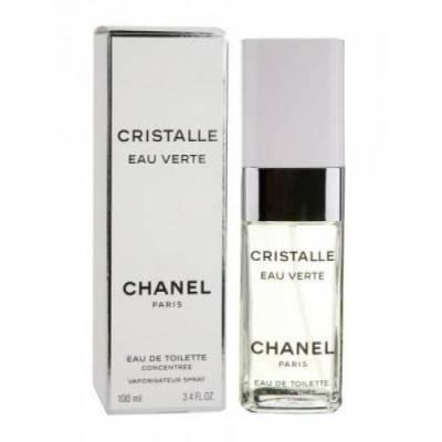 Женская парфюмерия Туалетная вода Cristalle Eau Verte 100ml (лицензия)